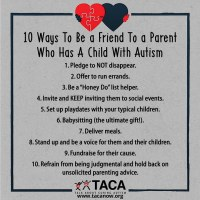 10 Ways YOU Can Help a Family Living with Autism
