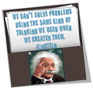 Einstein fix the problem