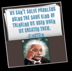 Einstein fix the problem