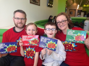 Benbow Superhero FAMILY