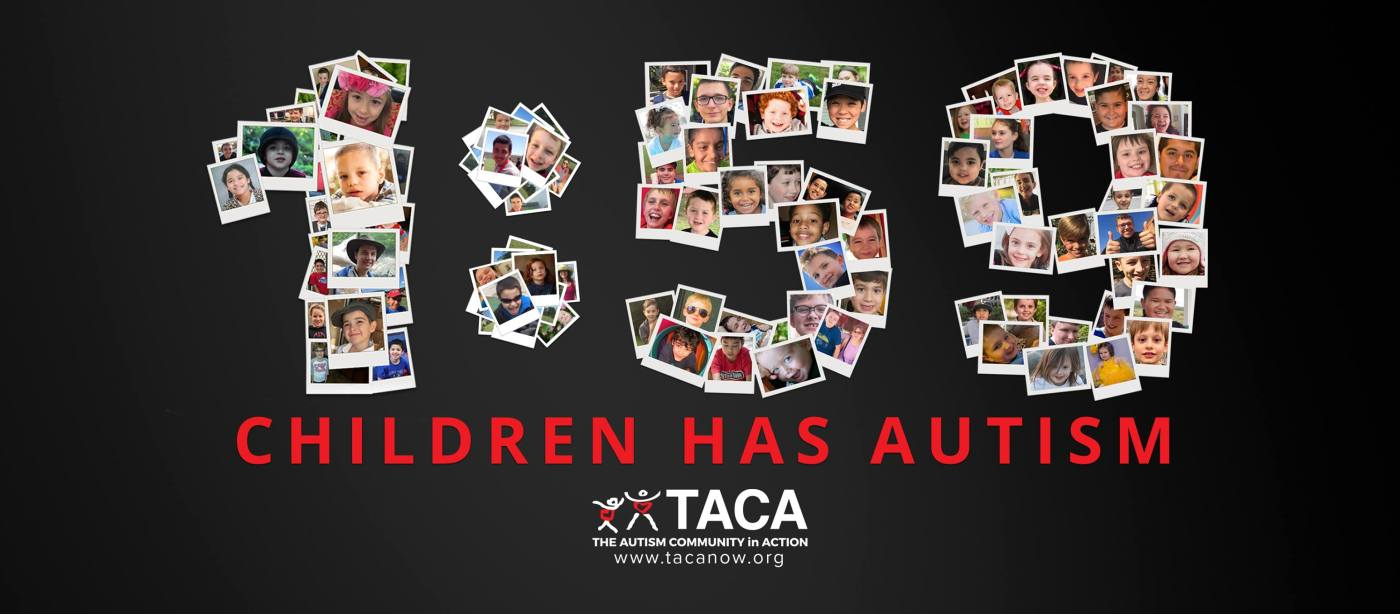 Us Announces 2 Autism Rate Again And >> Take Action For Autism During April Moving Autism Forward By Team Taca