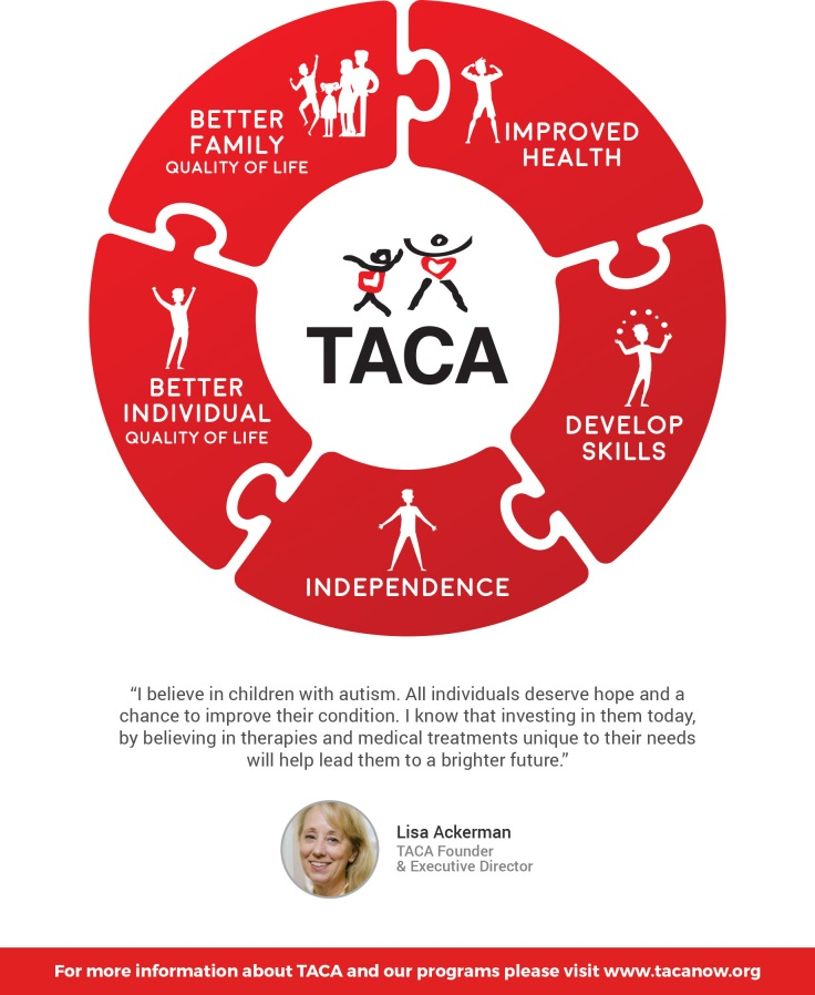 About TACA – Moving Autism Forward by Team TACA
